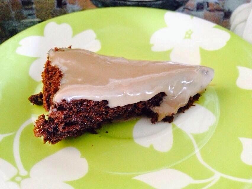 Bolo Aerado de Chocolate - sem farinha de trigo e sem leite