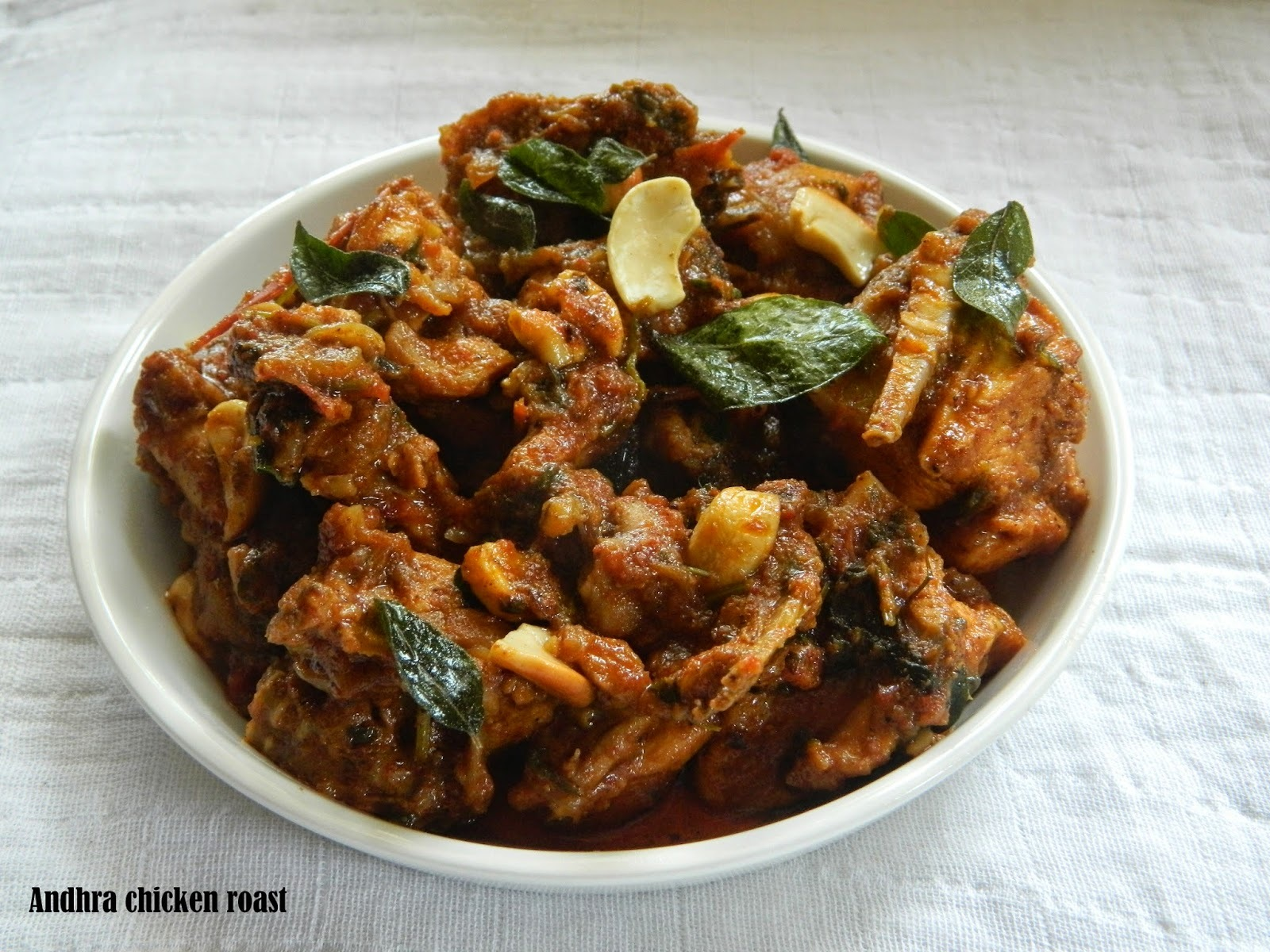 chicken dry fry andhra style