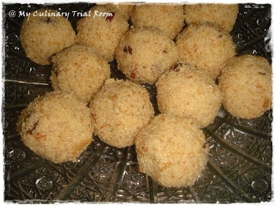 Coconut Rava / Semolina Laddoo | Step by Step Recipe | Tamil New Year Special