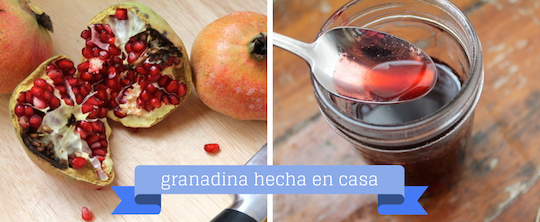 de fruta a jarabe / from fruit to syrup