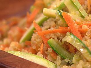 cuscuz de quinoa bem simples
