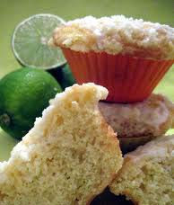 Muffins de limão com semente de papoula
