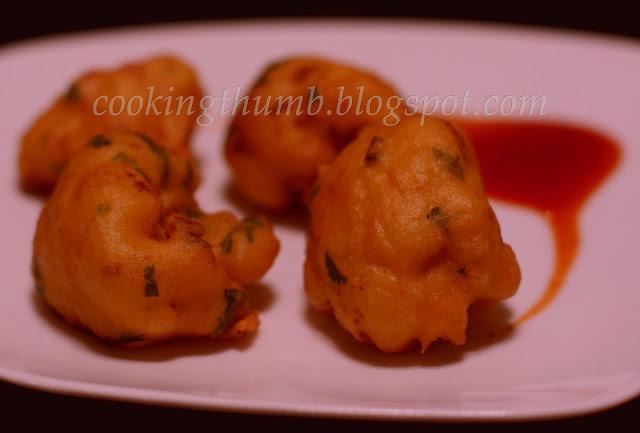 Gobi Pakora (Cauliflower Fritters)