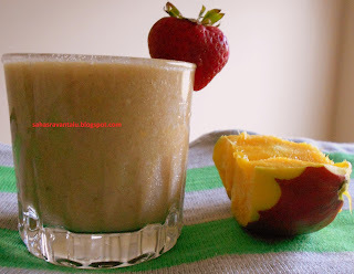 Soymilk Fruits Smoothie