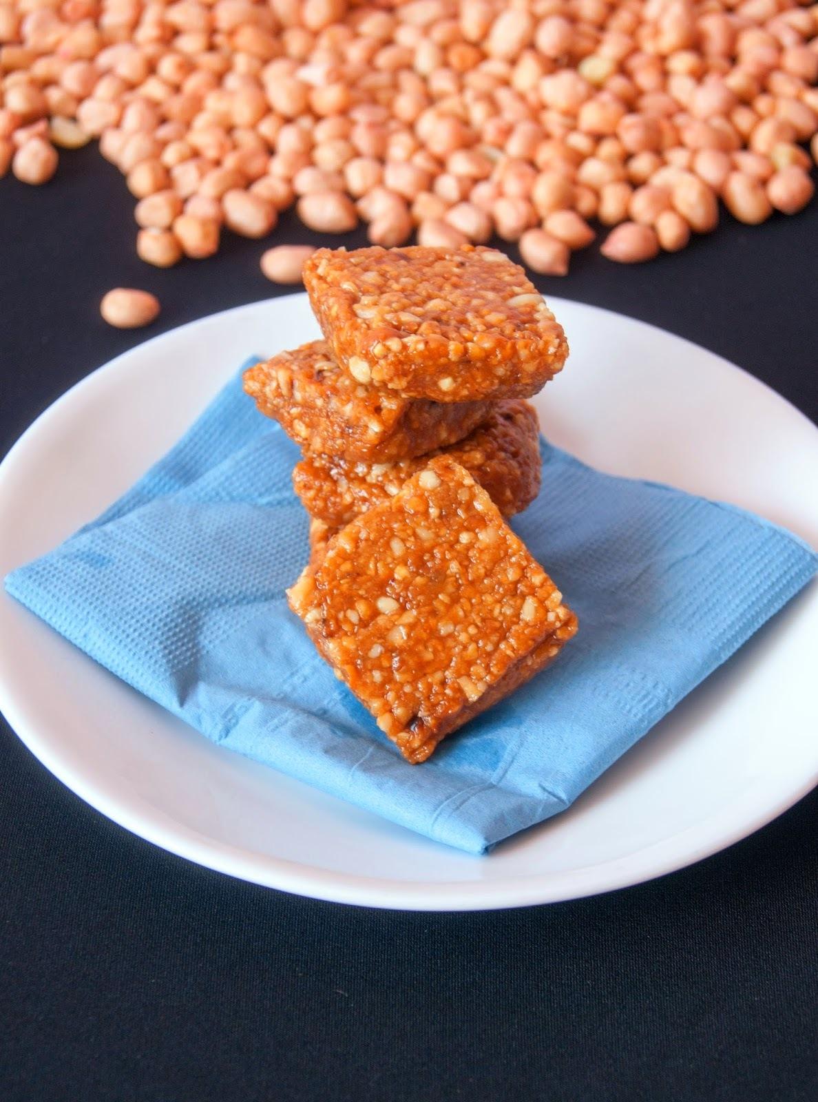 Peanut Brittle / Peanut Chikki