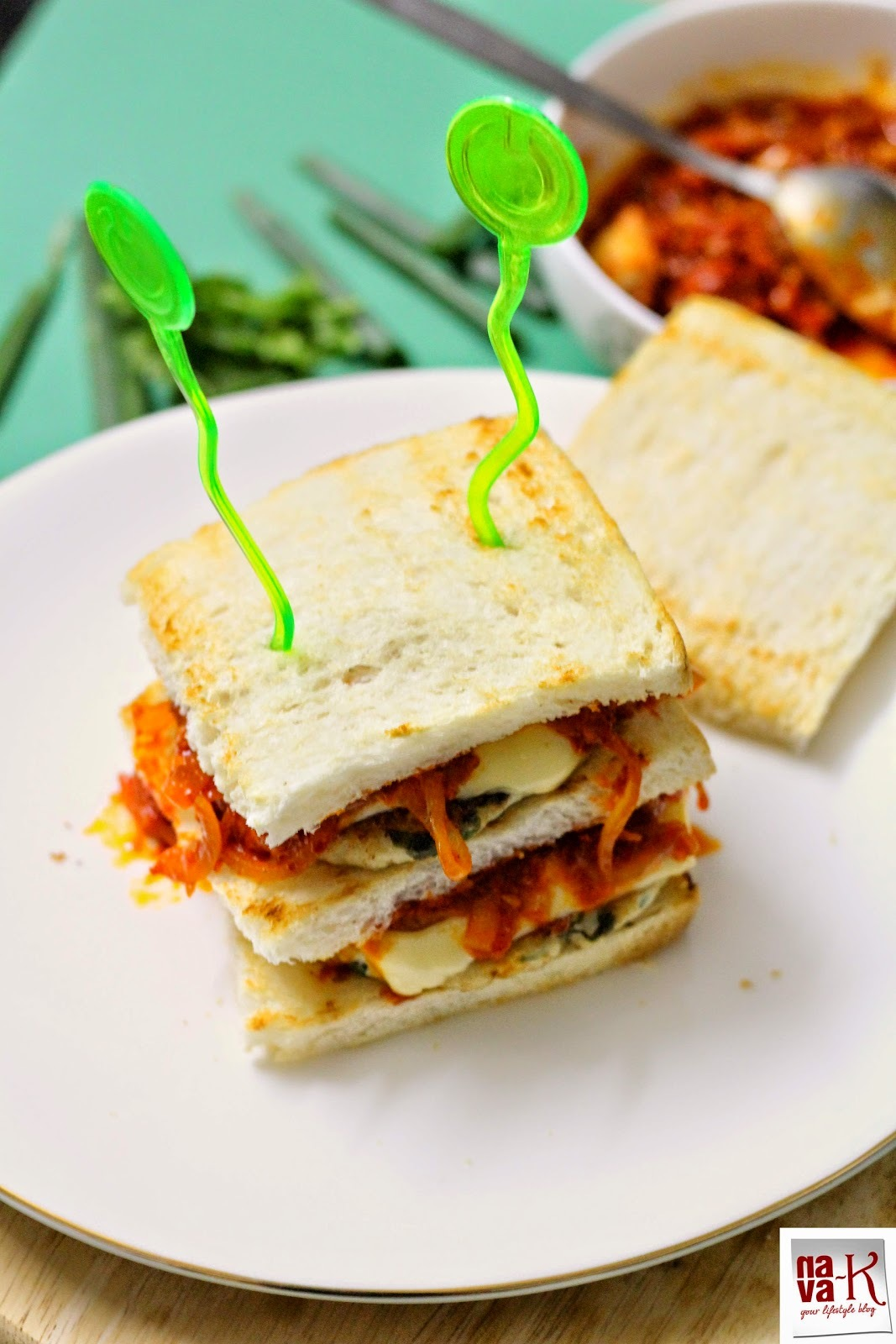 Chicken & Sambal Sandwich