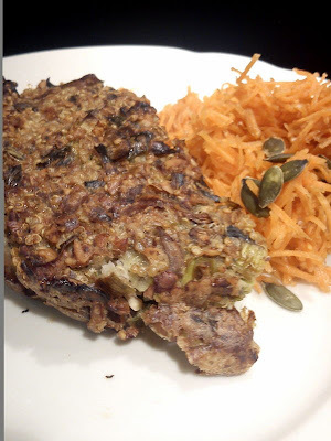 Nødde-Champignon Postej med Quinoa