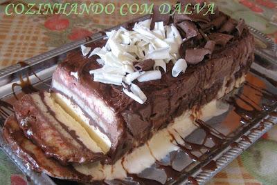 Torta ou Bolo de Sorvete