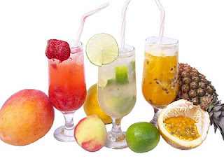 Coquetel de fruta sem álcool II