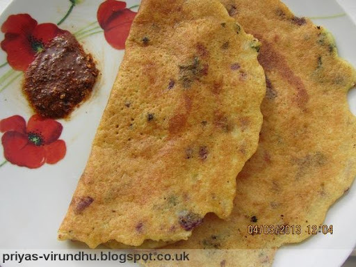 how to prepare adai dosa in tamil