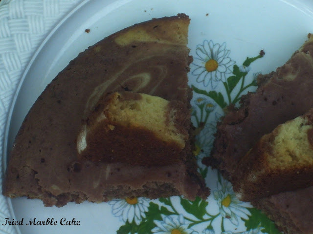 Marble Cake | Tried Cake In Pressure Cooker