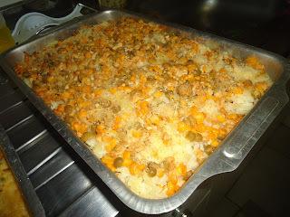 como fazer arroz com milho e cenoura