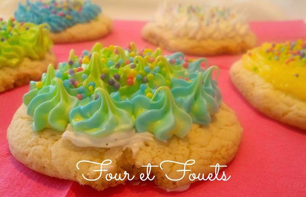 """Biscuits """"gâteau"""" à la vanille"""