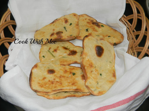 Homemade Butter Naan.