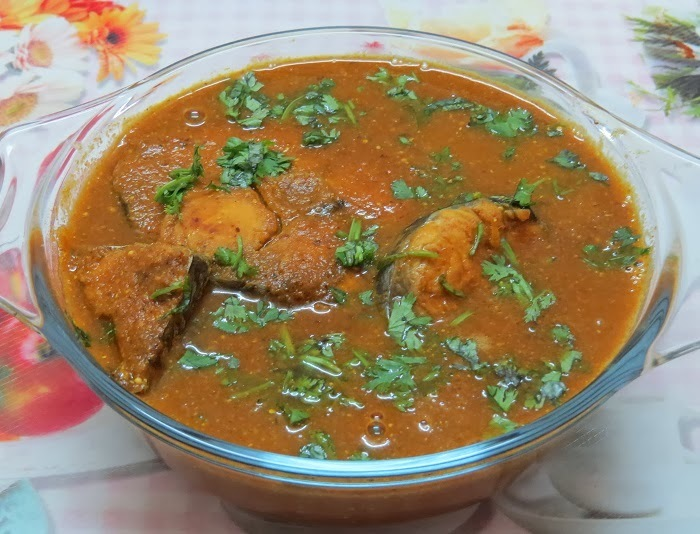 Bengal Fish Curry (Fish In Mustard Curry)
