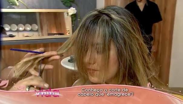 """Conheça o corte de cabelo que """"emagrece"""""""