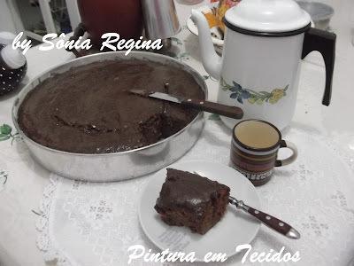 Bolo de Chocolate de Liquidificador.... hummmm