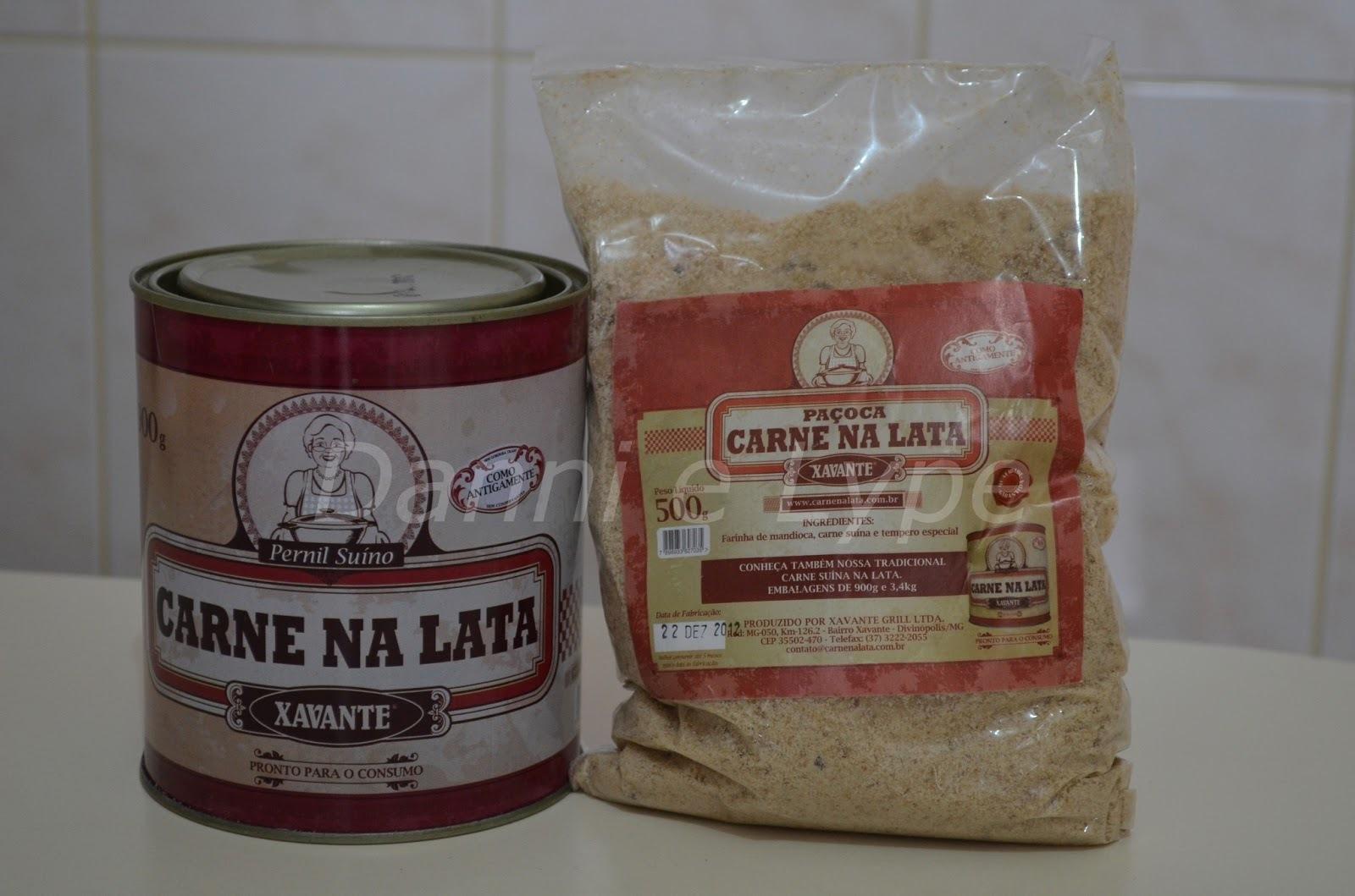 Carne Suína na Lata
