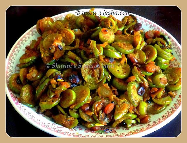 Kovakkai Poriyal / Tindora / Ivy Gourd Stir fry
