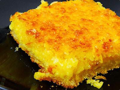 bolo de farinha de milho sem ovo