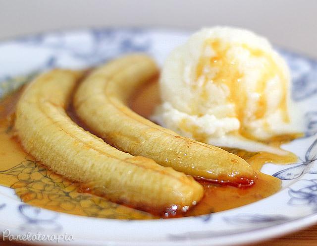 banana mais você x banana caramelizada em calda