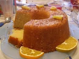 bolo de laranja diet de liquidificador