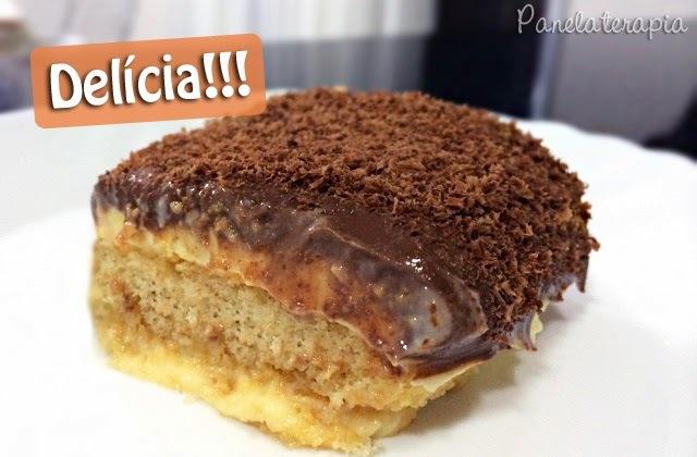 Pavê de Maracujá e Chocolate