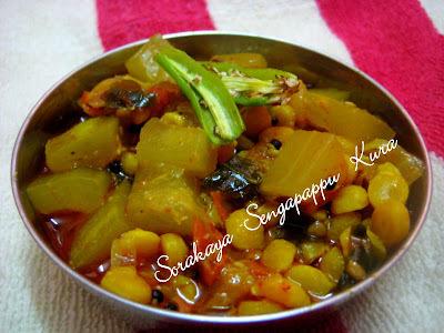 tomato senagapappu curry