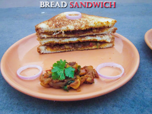 BREAD MASALA SANDWICH - NO MAIN VEGGIES