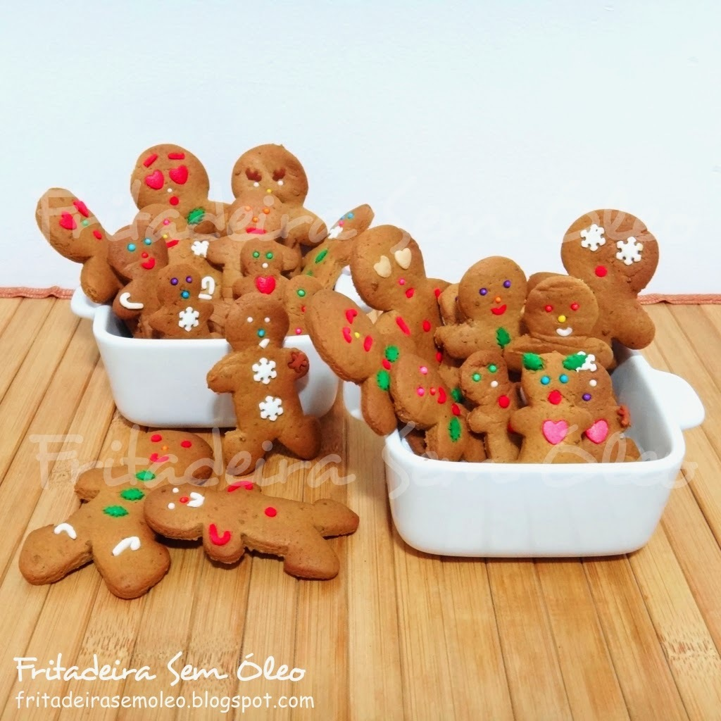 Gingerbread  / Biscoitos de Gengibre na AirFryer