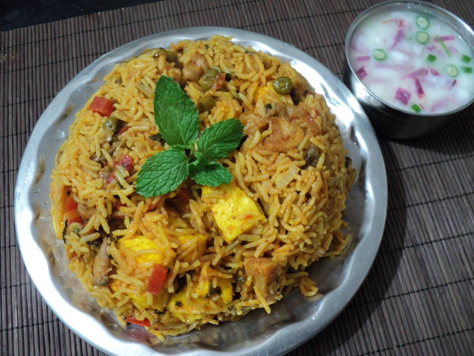 Chettinad Veg Biriyani