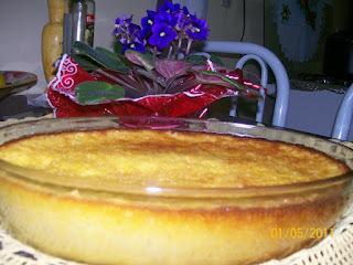 pamonha assada no forno de com queijo