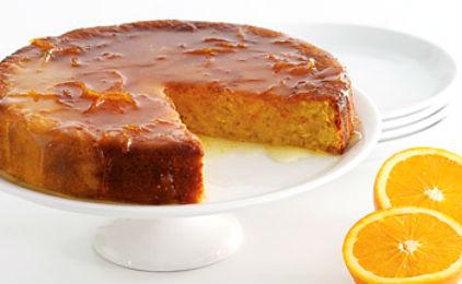 Καραμελωμένη πορτοκαλόπιτα