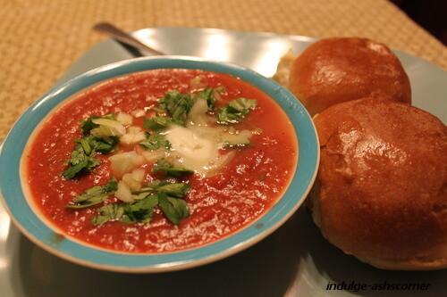 leftover pav bhaji