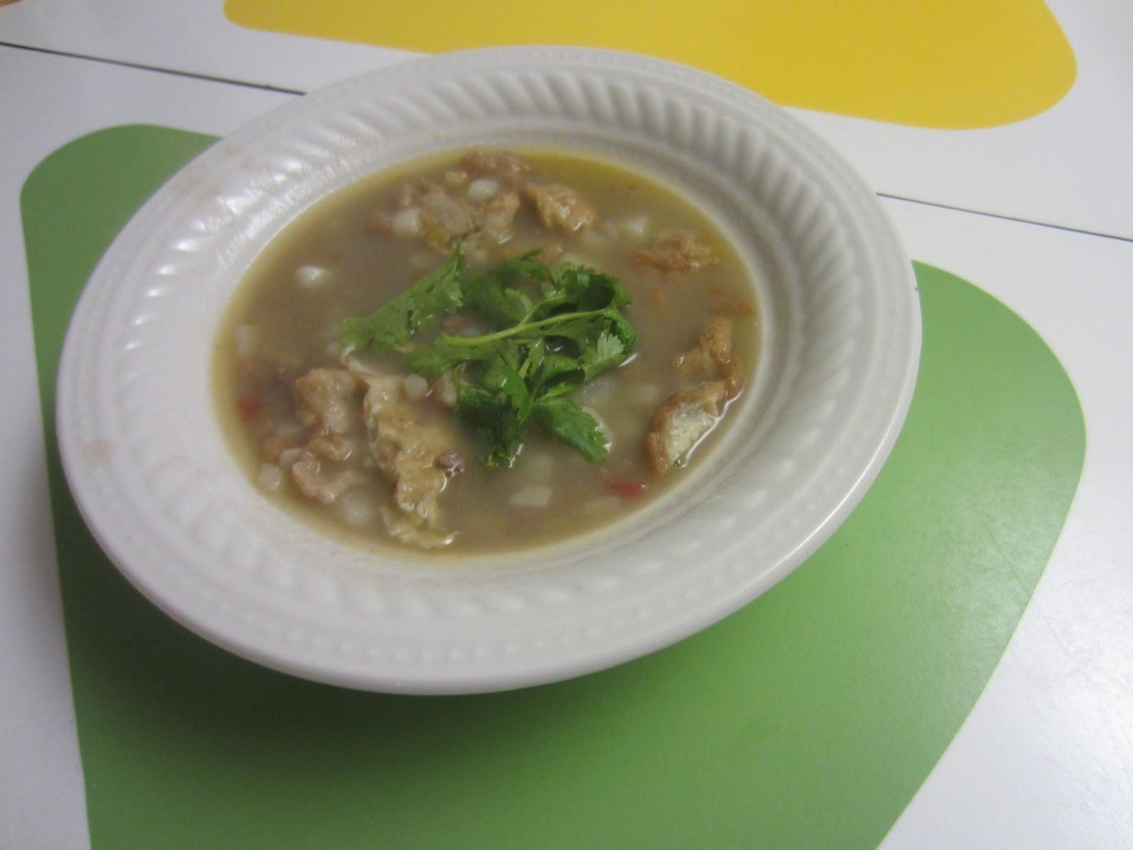 Sopa de tortilla Antioqueña acompañada de una entrevista muy especial