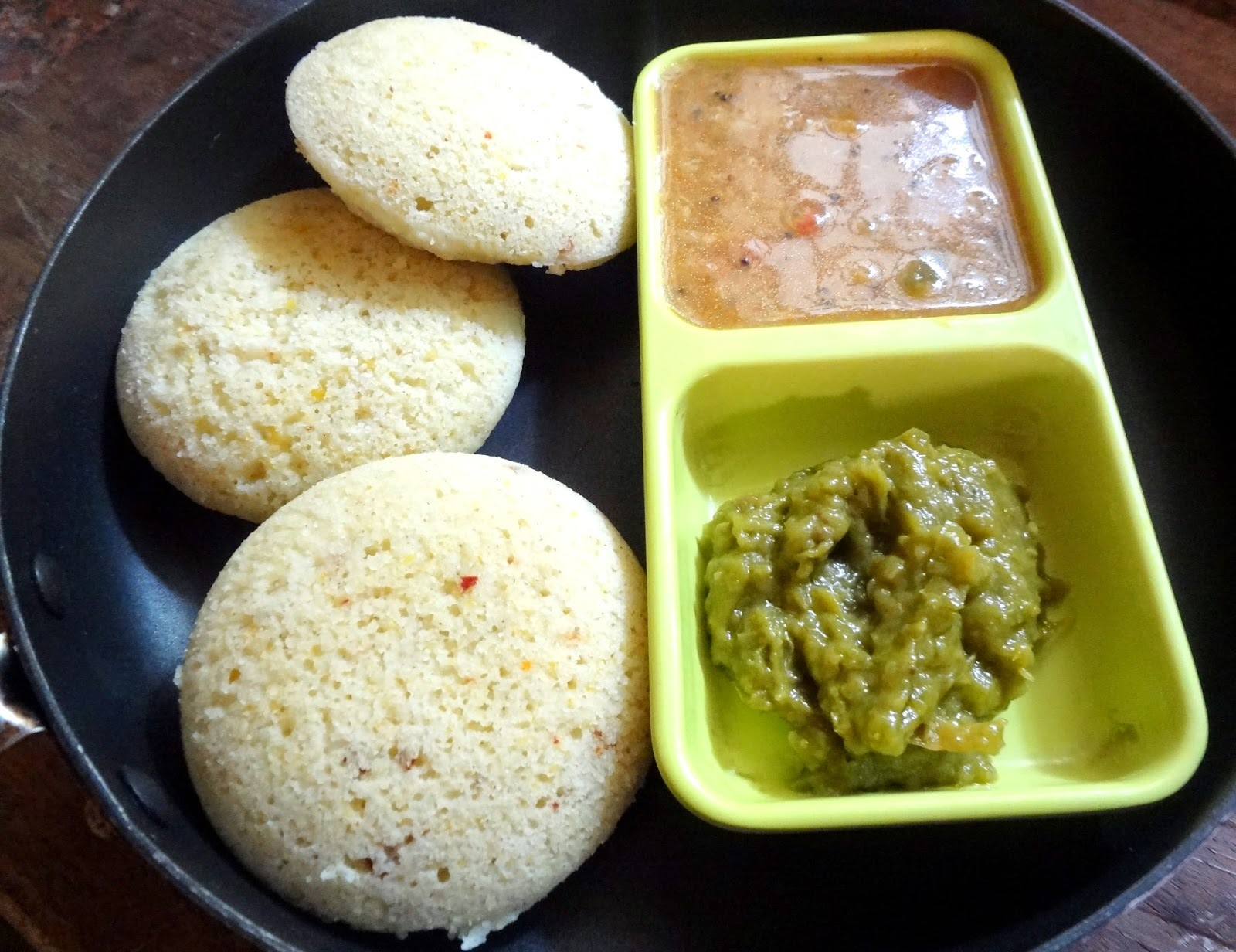 Millets and Dal  Idlis