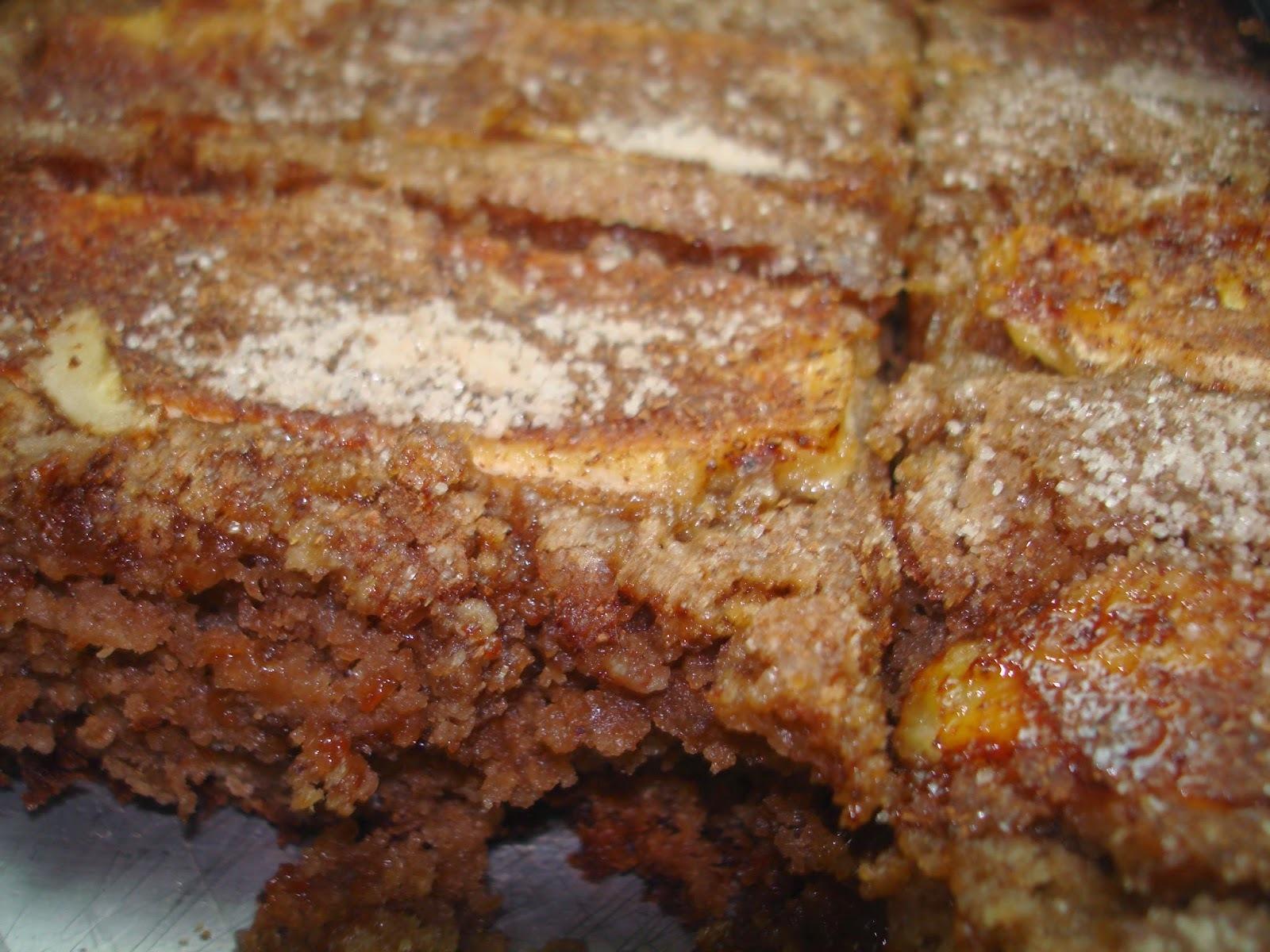 Bolo de Banana com Goiabada da Sil: uma massa que serve também para outros bolos alternativos. Experimente!