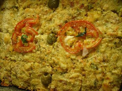 torta de bacalhau com repolho e batata