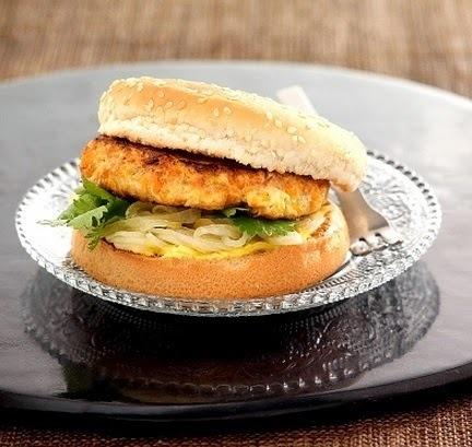 Como hacer hamburguesas de pollo faciles