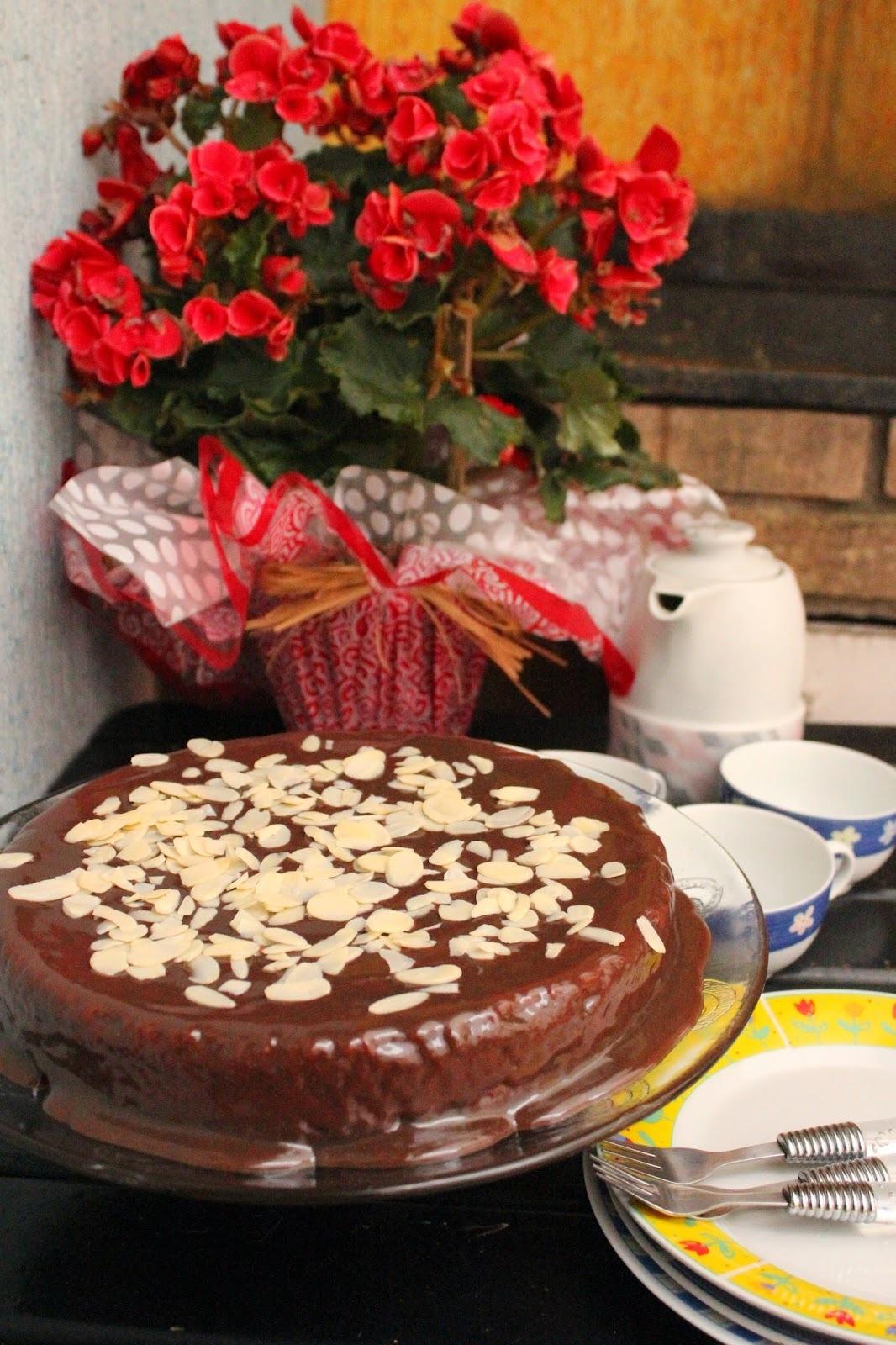 bolo de aveia com granola sem trigo