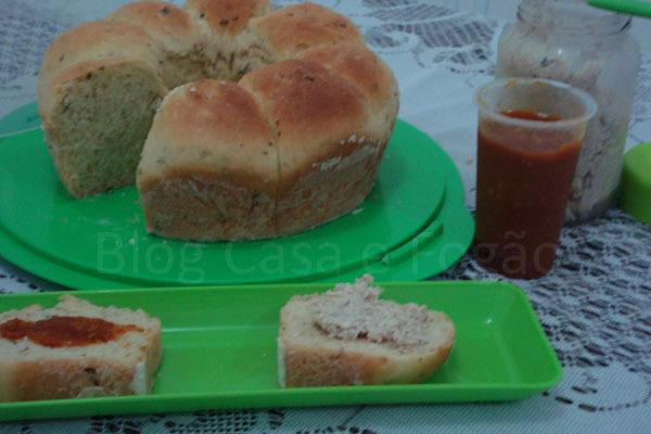 Pão de cheiro verde