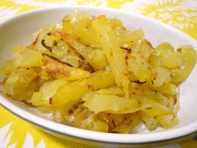 """Patates """"fregides"""" al forn"""