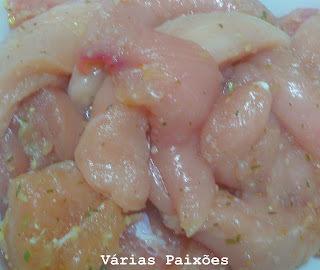 molho para peito de frango frito para ficar duro