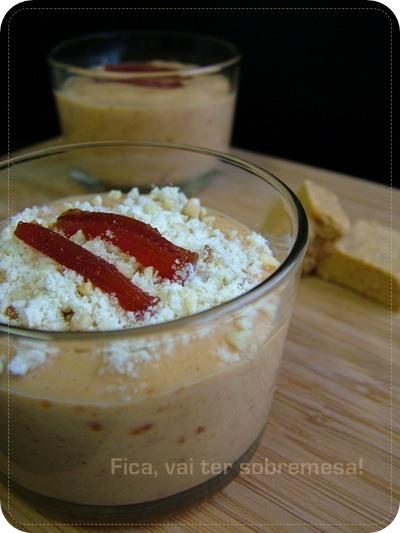 Mousse de goiabada com maracujá - Festa Junina