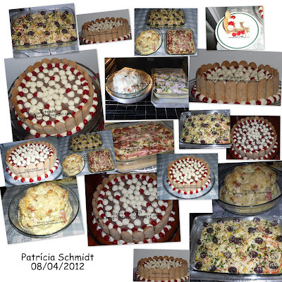 Páscoa na minha casa:  Bacalhau especial, couve-flor recheada e gratinada, torta de batata e calabresa e charlotte de chocolate