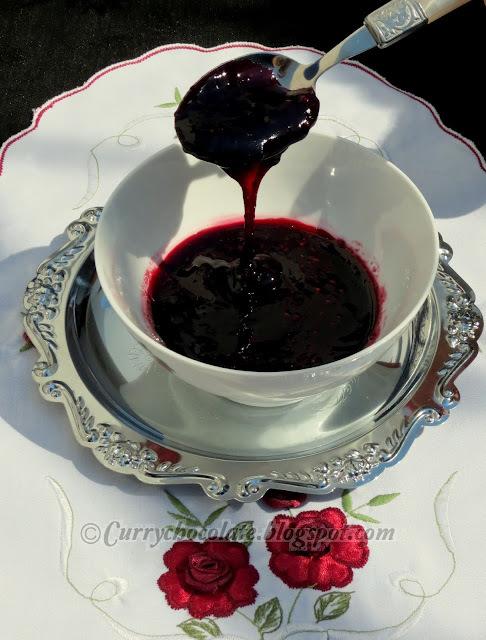 Mermelada casera de zarzamoras - Homemade blackberry jam