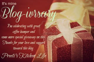 Giveaway @ Preeti's Kitchen Life