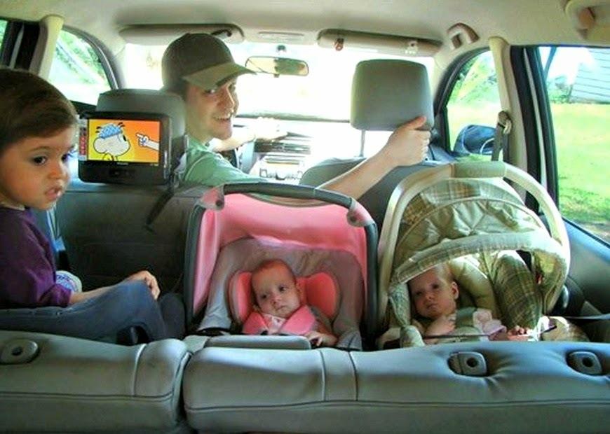 Viagens de carro com Gemelares