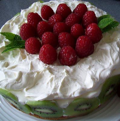 ovocné tvarohové torty