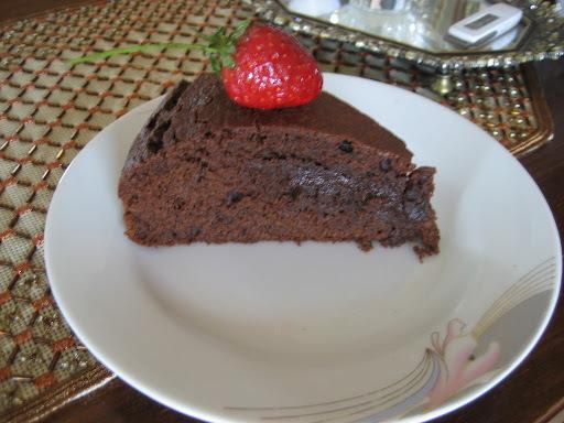 Κέικ Σοκολάτας υγρό στην κατσαρόλα